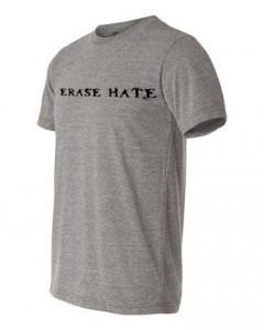Erase Hate Triblend Grey