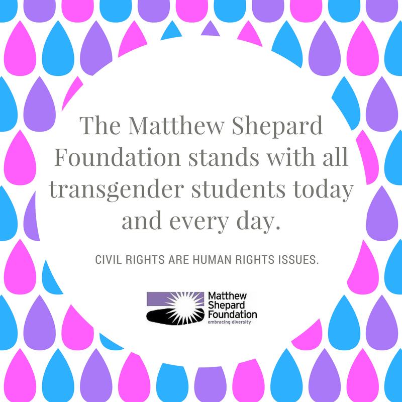"Statement on Trump's Transgender ""Recommendations"""